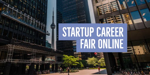 Startup Career Fair Online: Talent Registration