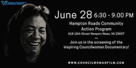 Councilwoman Film Screening (Newport News) tickets
