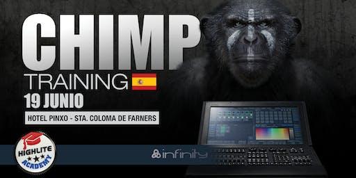 CHIMP Curso controladores ES @Sta. Coloma de Farners ¡Crea tu espéctaculo!