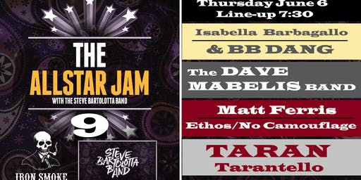 Steve Bartolotta's ALL STAR JAM 9!!!