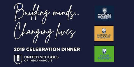 """""""Building Minds...Changing Lives"""" 2019 Dinner and Celebration tickets"""