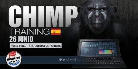 CHIMP Curso controladores ES @Sta. Coloma de Farners ¡Crea tu espéctaculo! entradas