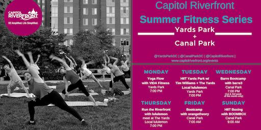 Capitol Riverfront Summer Fitness Series: Bootcamp w/ orangetheory