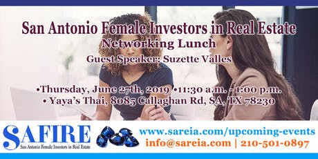 San Antonio Females in Real Estate: Networking Lunch tickets