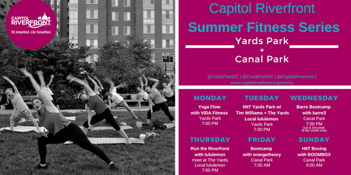 Capitol Riverfront Summer Fitness Series: HIIT Boxing w/ BOOMBOX