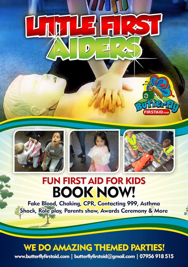 Little First Aiders - Fun First Aid 4 Kids - BLACKHEATH