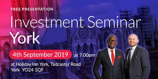 York Investment Seminar on Buy2LetCars