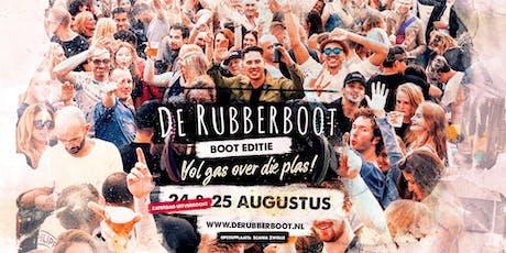De Rubberboot - Boot Editie zondag 25 augustus  tickets