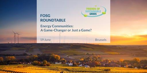 FOSG Roundtable: Energy Communities
