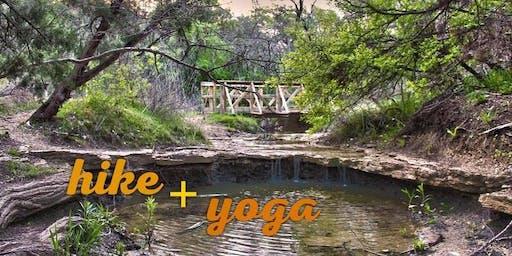 Hike + Yoga