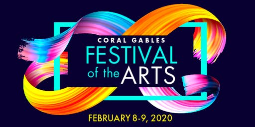CORAL GABLES MEGA ART FESTIVAL - 5 EVENTS ONE LOCATION