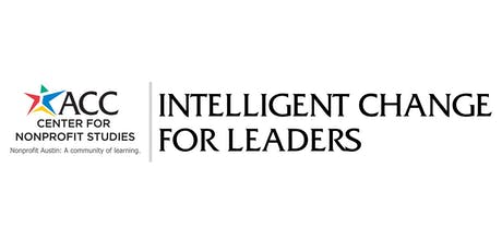 Intelligent Change for Leaders tickets