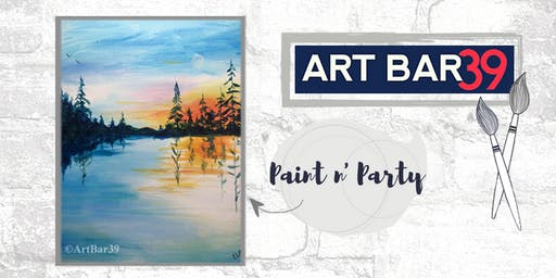 Paint & Sip | ART BAR 39 | Public Event | Land of 10,000 Lakes