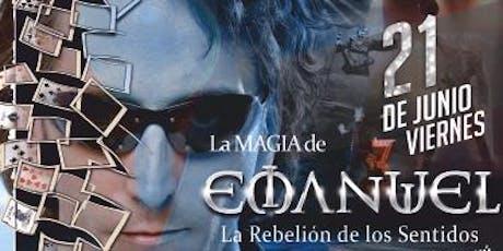 """EMANUEL """"Rebelión de los Sentidos"""" entradas"""