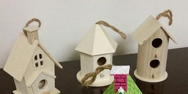 Kids Workshop Bird House Craft
