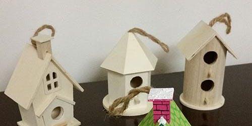 Kids Workshop Bird House Craft