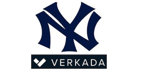 New York IT Community Yankee Game (Luxury Suite), Sponsored by Verkada tickets