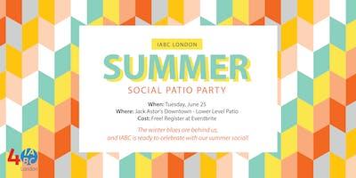 IABC London Summer Social Patio Party!