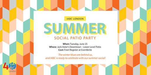 IABC London Summer Social Patio Party!