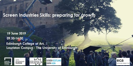 Screen Industries Skills 2019: preparing for growth tickets