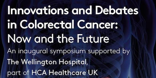 Innovations and Debates in Colorectal Cancer: Now and the Future, 19th September 2019