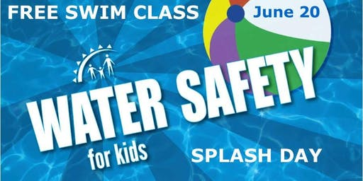 FREE Community Splash Day, 1:00 - 4:00pm