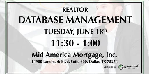 Lunch and Learn: Database Management