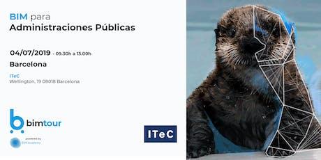 BIMtour: BIM para Administraciones Públicas en ITeC entradas