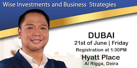 Mentor Me (DUBAI): Wise Investments & Business Strategies (For Filipinos Only) tickets