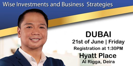 Mentor Me (DUBAI): Wise Investments & Business Strategies (For Filipinos Only)