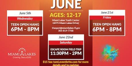 Open Hang: June 21st tickets