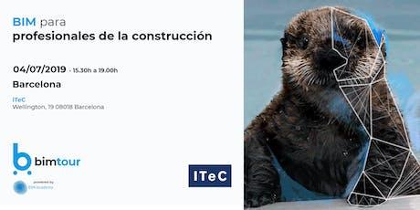 BIMtour: BIM para profesionales de la construcción en ITeC entradas