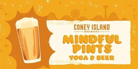 Mindful Pints: SUNSET Yoga on the Beach tickets