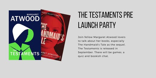 Margaret Atwood's The Testaments Pre-Launch Party