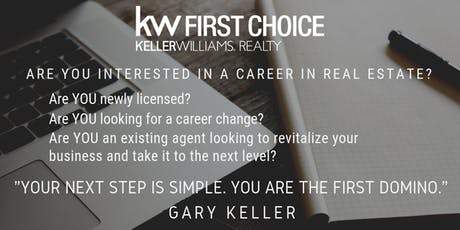 Keller Williams Realty Career Night | KW First Choice | Ascension Parish tickets