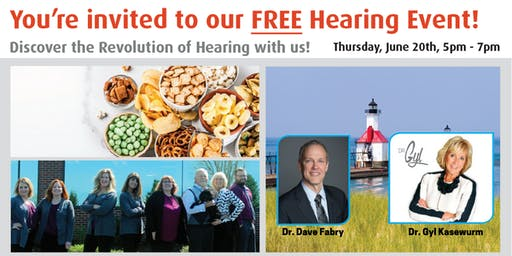 Dr. Gyl's Hearing Event - FREE Admission