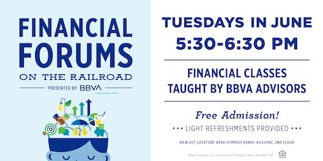 Financial Forums on the Railroad presented by BBVA  tickets