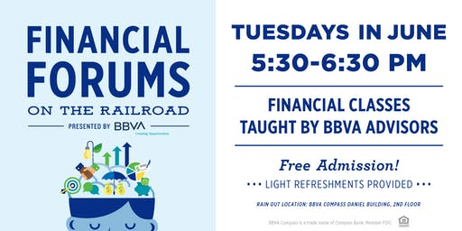 Financial Forums on the Railroad presented by BBVA
