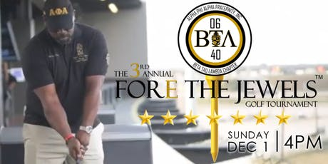The 3rd Annual Fore The Jewels Golf Tournament tickets
