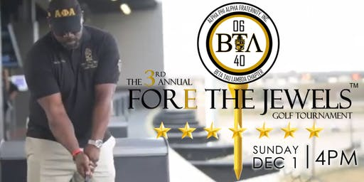 The 3rd Annual Fore The Jewels Golf Tournament