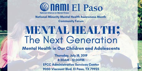 Mental Health; The Next Generation tickets