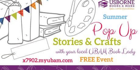 Pop Up Story Time & Crafts at WeeCycle tickets