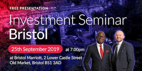 Bristol Investment Seminar on Buy2LetCars tickets