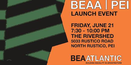BEAA | PEI Launch tickets