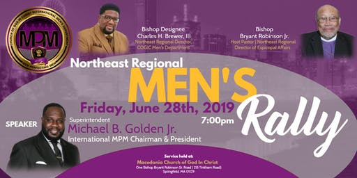 Northeast Regional Men's Rally COGIC