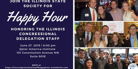 Illinois State Society and Illinois Congressional Staff Happy Hour tickets
