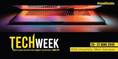 KCA UNIVERSITY TECH WEEK tickets
