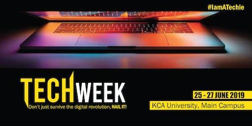 KCA UNIVERSITY TECH WEEK