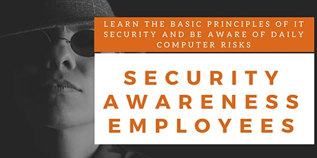 Security Awareness Employees Online Training (English) tickets