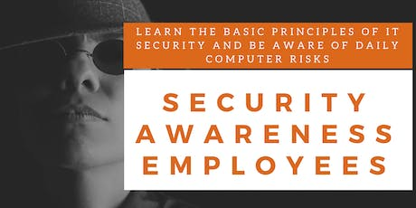 Security Awareness Employees Training (English) billets
